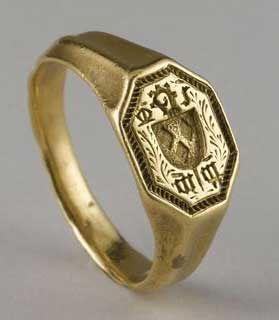 15thcentury italian ring