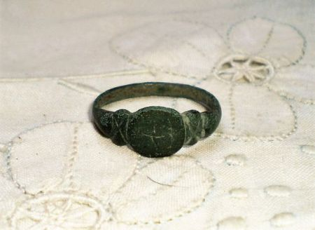 bronze viking ring